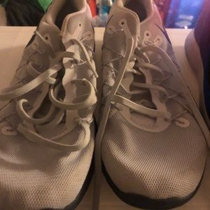 Men's white Nike sneakers size 11
